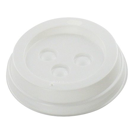Lid for Coffee To Go Cup white 10 Oz - Horecavoordeel.com