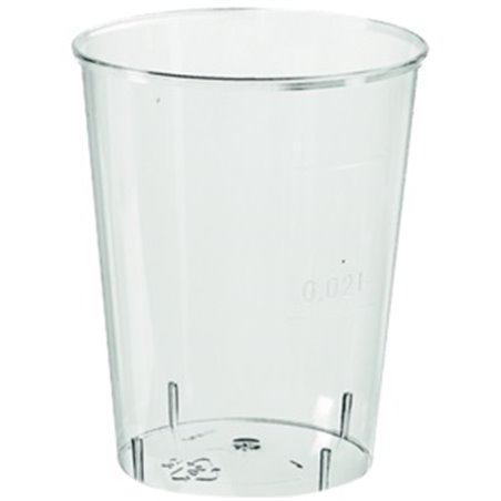 Borrel - Shot Glazen 20cc Zonder Voet (Klein-verpakking) Horecavoordeel.com