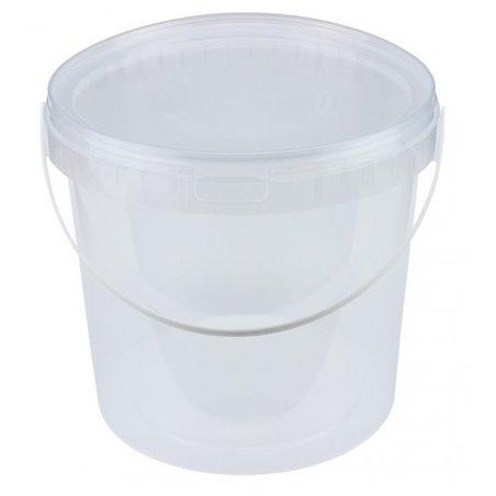 Emmers Transparant 5 Liter met Hengsel Horecavoordeel.com