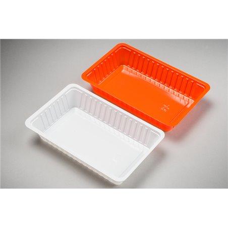 Snackbakjes A14 600cc PS Oranje 189 x 121 x 35mm Horecavoordeel.com