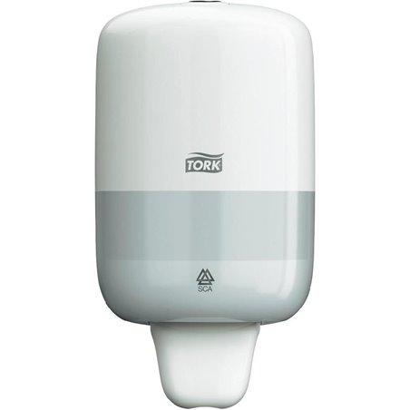 Zeepdispenser Tork S2 Wit Mini Voor 475cc Fles Horecavoordeel.com