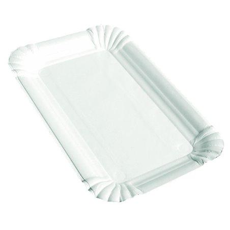 Vleeswarenschaaltjes Karton Wit Ongevoerd 100 x 160mm Horecavoordeel.com