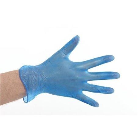 Handschoenen Vinyl Blauw Poedervij Large (Klein-verpakking) Horecavoordeel.com