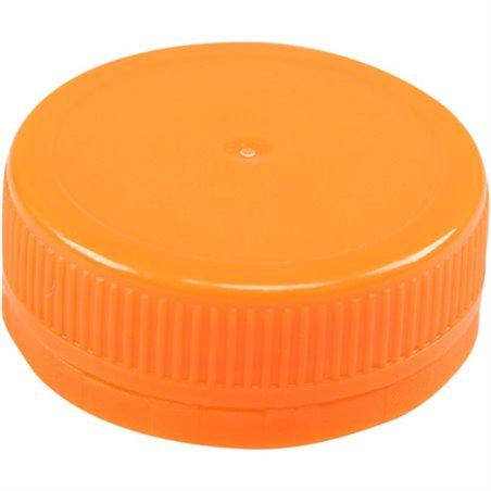 Doppen Oranje voor Pet Flessen Ø 38mm Horecavoordeel.com