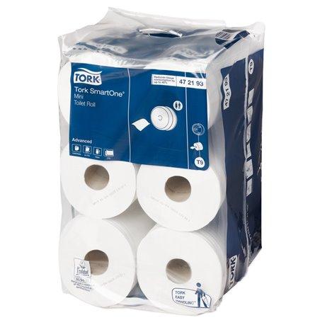 Toiletpapier Tork T9 Advanced 1 Laags Wit Horecavoordeel.com