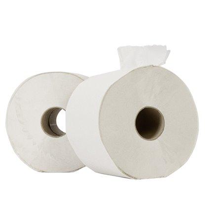 Toiletpapier Compact (EM) Tissue Wit (zonder Dop) 100m 714 Vel Horecavoordeel.com