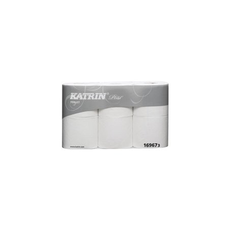 Toiletpapier Katrin 4 Laags Wit Horecavoordeel.com