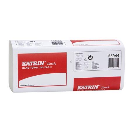Handdoek Recycled Zigzag Katrin 2-laags ZZP / V-vouw 232 x 230mm Horecavoordeel.com
