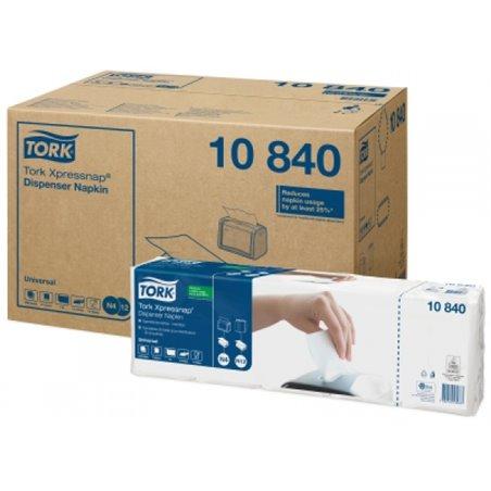 Dispenser Servetten Tork Xpressnap (10 840) 1 Laags Wit N4/n12 216 x 330mm Horecavoordeel.com