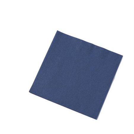 Servetten Blauw 3 Laags 1/4 Vouw Fasana 400 x 400mm Horecavoordeel.com