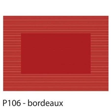 Placemats Bordeaux Rood Papier 300 x 420mm (Klein-verpakking) Horecavoordeel.com