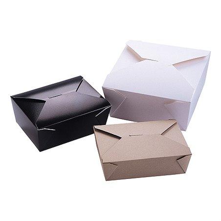 Kartonnen Bakken 2880ml Biopack Plus 4 Earth Recycled 222 x 164 x 89mm Horecavoordeel.com