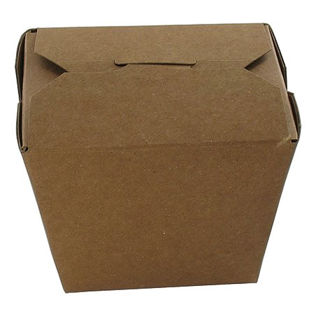 Kartonnen Bakken 920ml 32oz Fold-pak Earth Recycled Bruin 86 x 67 x 108mm Horecavoordeel.com