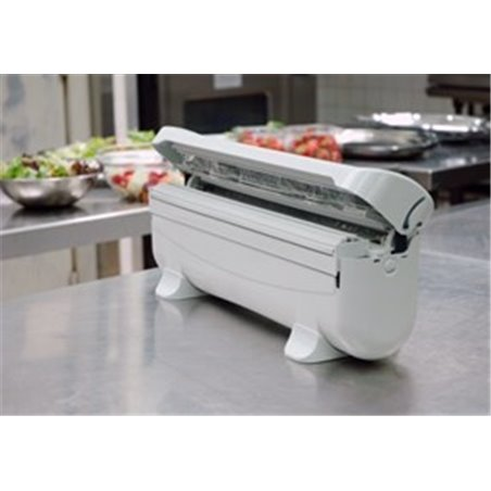 "Dispenser ""Eazywrapper"" voor Aluminium- Catering- Cling Folie 300mm Horecavoordeel.com"