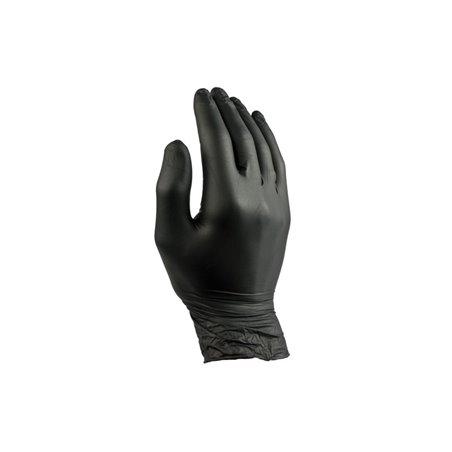 Handschoenen Nitril Zwart Poedervrij Medium Pro (Klein-verpakking) Horecavoordeel.com