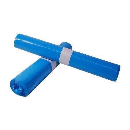 Afvalzakken 800 x 1100mm T25 Blauw (Klein-verpakking) Horecavoordeel.com