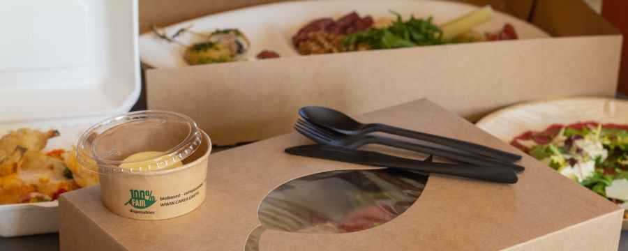 Op zoek naar Duurzame Cateringschalen en Duurzame Cateringdozen? -Horecavoordeel-