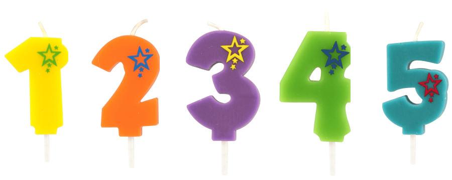 Cijfer Kaarsen -Horecavoordeel-